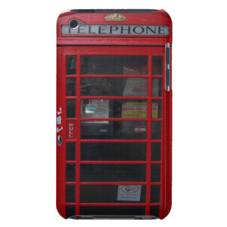 red phone booth iPod Case-Mate cases