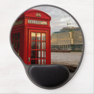 Red Phone Booth - London UK Gel Mouse Pad