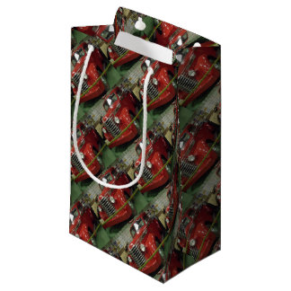 Red Pickup Gift Bag for Him