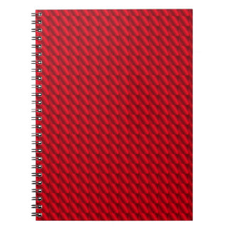 Red Pile Background Notebook