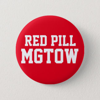 Red Pill MGTOW 6 Cm Round Badge