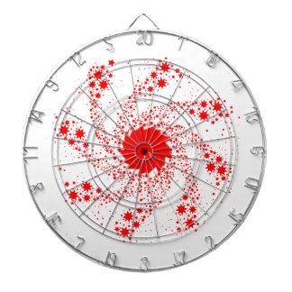 Red Pin Wheel Dartboard