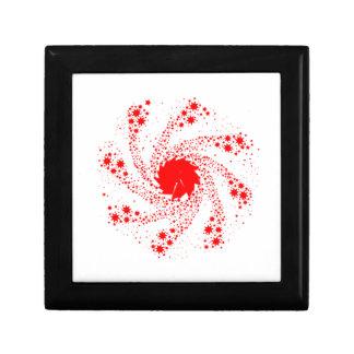 Red Pin Wheel Gift Box
