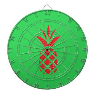 Red Pine apple in  Green Dartboard