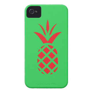 Red Pine apple in  Green iPhone 4 Cover