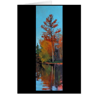 Red Pine Reflection Card