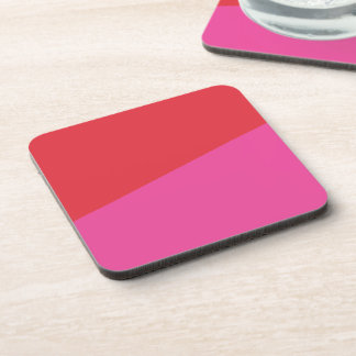 Red + Pink Coasters