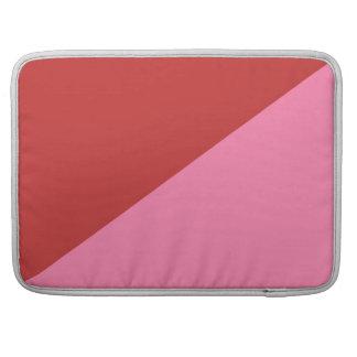 Red & pink customizable Macbook Pro sleeve