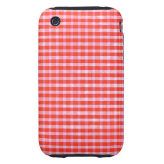 Red Pink Gingham 4th generation iPod Touch Case