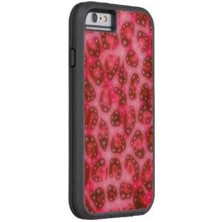 Red Pink Glowing Cheetah Tough Xtreme iPhone 6 Case