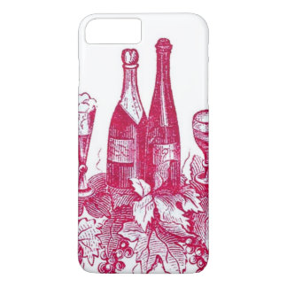 Red/Pink Wine bottle iPhone Case 6s