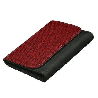 Red Pixel Pattern Wallet