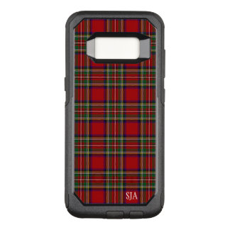 Red Plaid Design Otter Box OtterBox Commuter Samsung Galaxy S8 Case