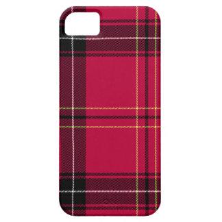 Red Plaid iPhone 5 Cases
