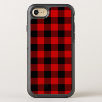 Red Plaid OtterBox Symmetry iPhone 8/7 Case