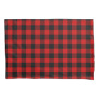Red Plaid Pillowcase