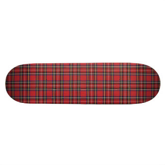 Red Plaid Skate Boards