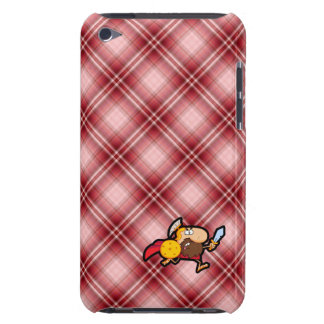 Red Plaid Spartan Gladiator iPod Touch Cover