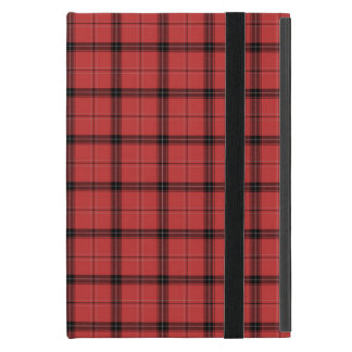 Red Plaid Tartan Christmas Holiday Pattern iPad Mini Case