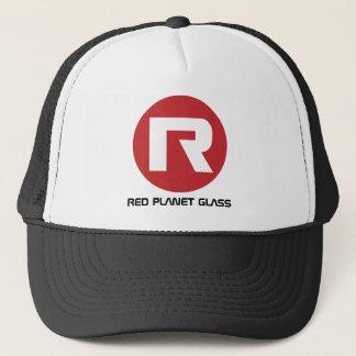 Red Planet Glass Trucker Cap