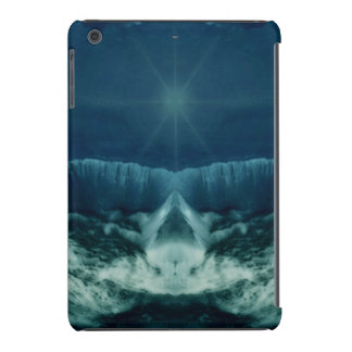 Red Planet in Blue iPad Mini Cases