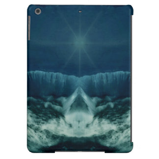Red Planet in Blue iPad Air Cases