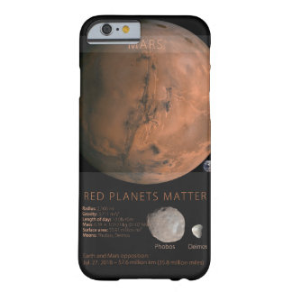Red Planets Matter Barely There iPhone 6 Case