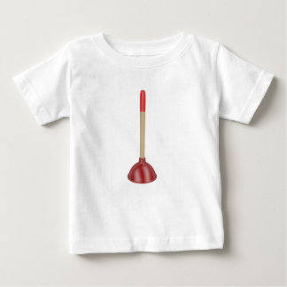 Red plunger baby T-Shirt