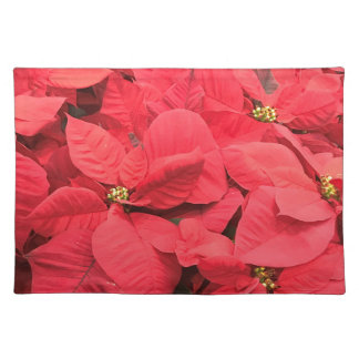 Red  Poinsettia Placemat