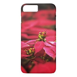 Red Poinsettias Flowers iPhone 7 Plus Case