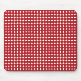 Red points and circles mousepads