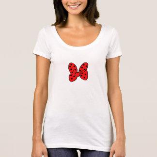Red Polka Dot Bow Shirt