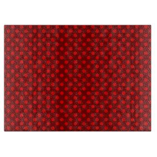 Red Polka Dot Cutting Board