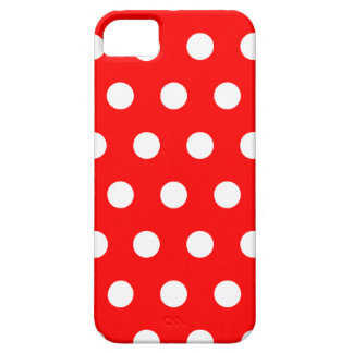 Red Polka Dot iPhone 5 Case