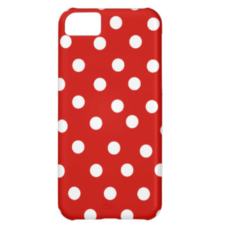 Red Polka Dot iPhone 5C Case