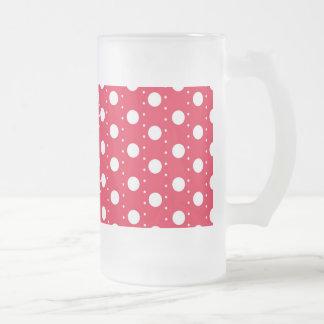 Red Polka Dot Pattern Mug