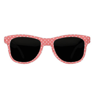 Red polka dot red sunglasses