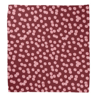 Red Polka Dots Bandana
