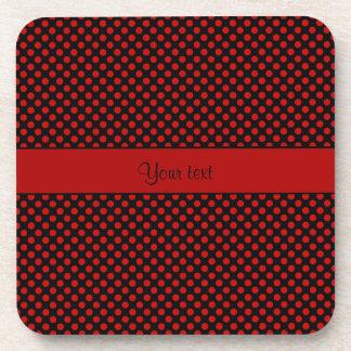 Red Polka Dots Coaster