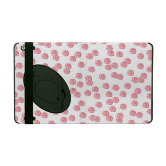 Red Polka Dots iPad 2/3/4 Case with Kickstand