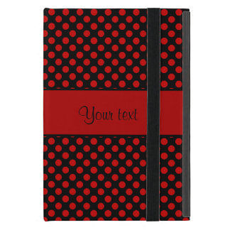 Red Polka Dots iPad Mini Case
