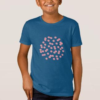 Red Polka Dots Kids' Organic T-Shirt