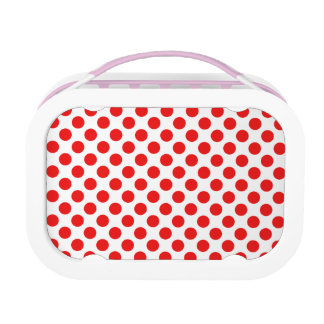 Red Polka Dots Lunch Boxes