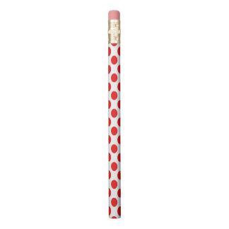 Red Polka Dots Pencil