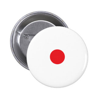 Red Polkadots Small Button