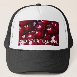 Red Pomegranate Seeds Trucker Hat
