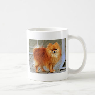 Red Pomeranian Coffee Mug