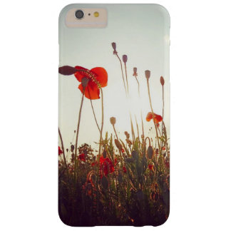 Red poppies barely there iPhone 6 plus case