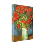Red Poppies by Vincent van Gogh Canvas Prints