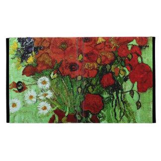 Red Poppies & Daisies (F280)Van Gogh Fine Art iPad Folio Cases